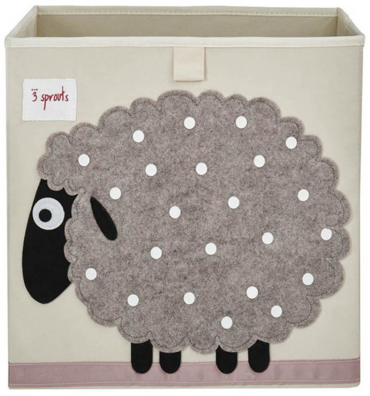 3 Sprouts-Storage Box - Sheep