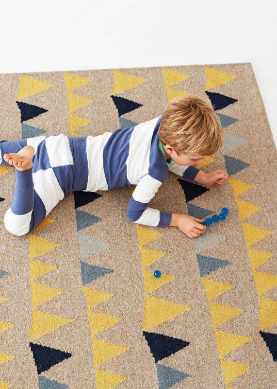 Armadillo-Wool Floor Rugs-Bunting