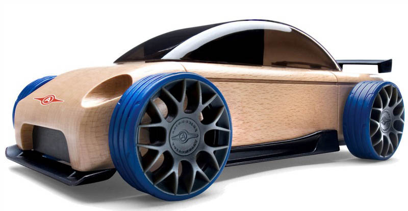 Automoblox-Wooden Cars-Mini S9R Sports Sedan