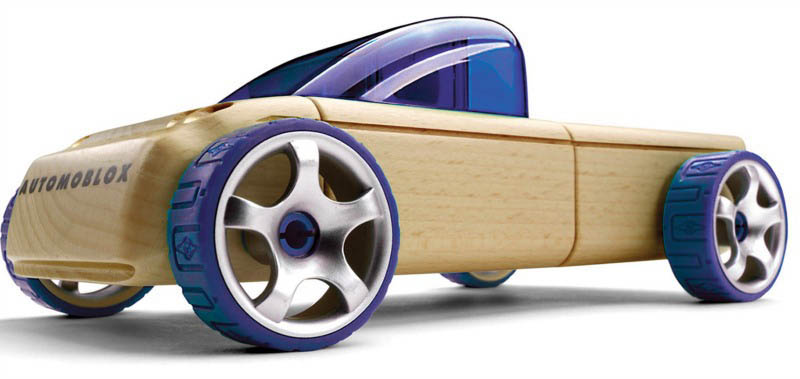 Automoblox-Wooden Cars-Mini T9 Pickup Truck