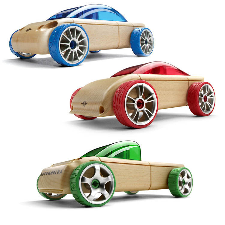 Automoblox-Wooden Cars-Minis {T9, S9, C9}
