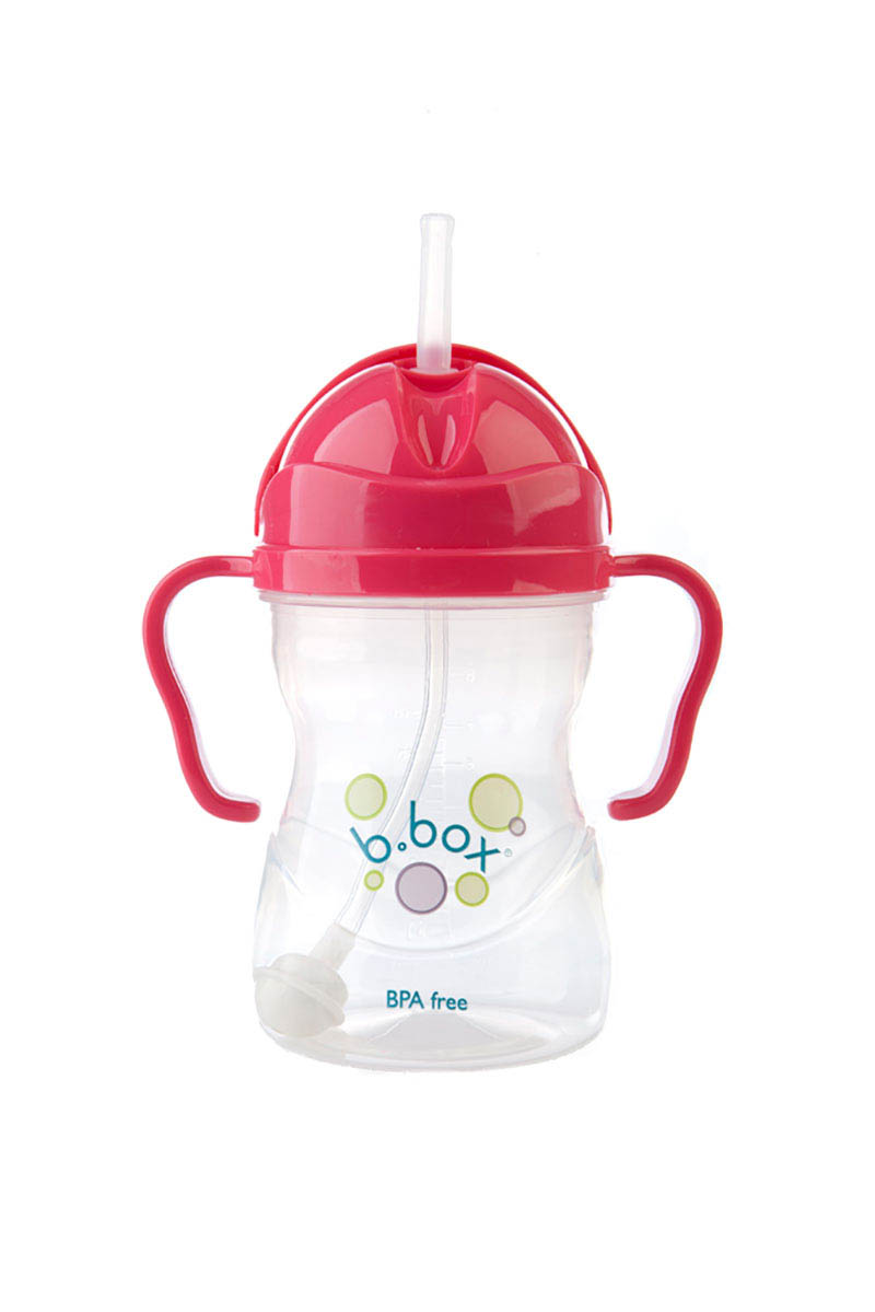 b.box-Baby Drinking Cups-Sippy Cup {Raspberry}