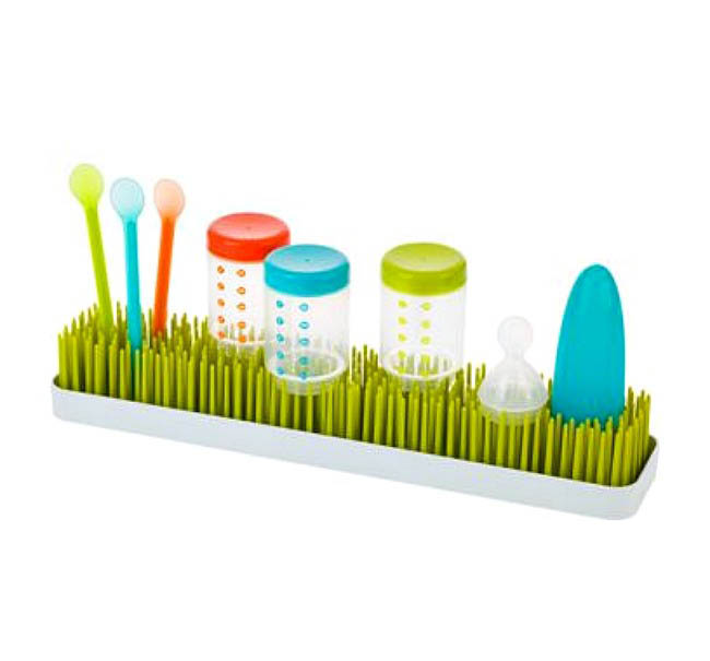 Boon-Baby Bottle Drying Rack-Patch {Green}