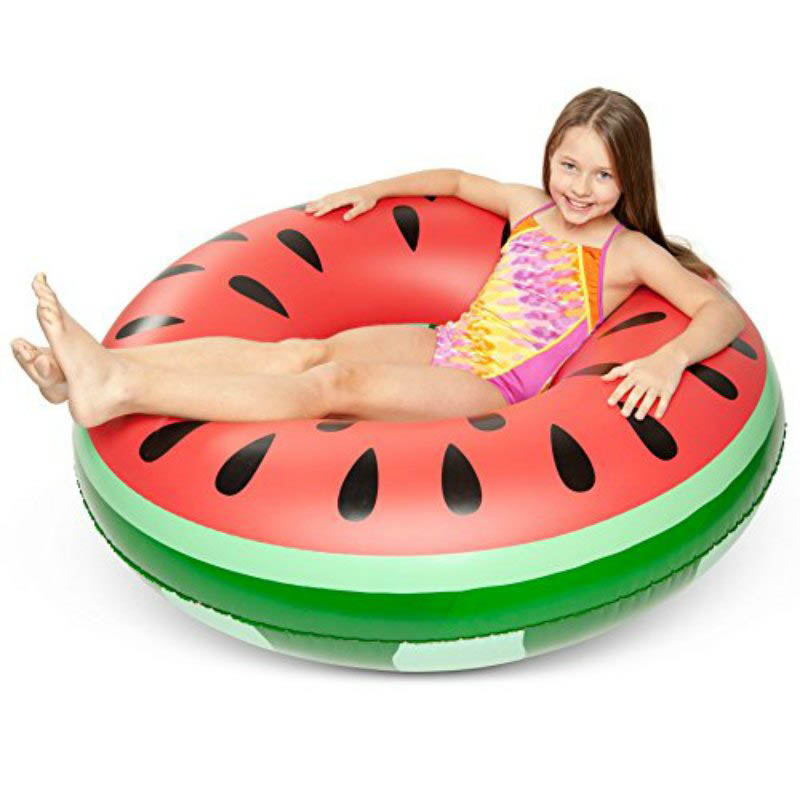 ECD Giant Inflatable Watermelon Pool Float