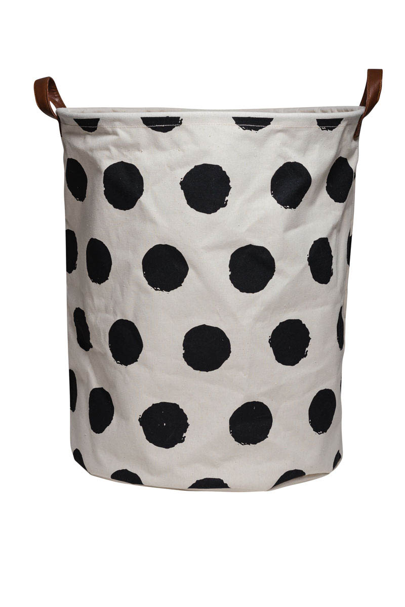 ECD-Storage Solutions-Canvas Basket {Spots}