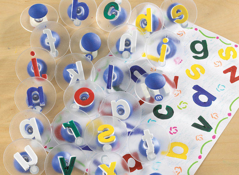 Edx Education-Kids Art-Alphabet Paint Stampers {Lowercase}