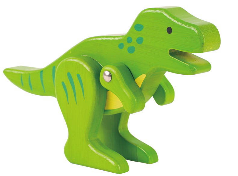 EverEarth- Wooden Toys- Bamboo Dinosaurs {T-Rex}
