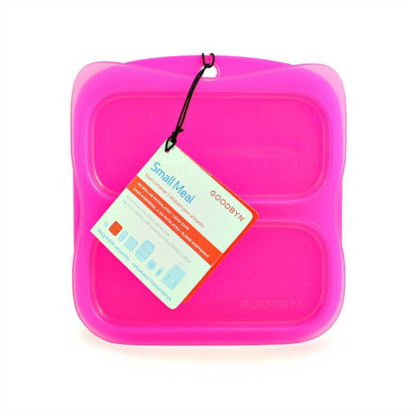 Goodbyn-Kids Lunchboxes- Small Meal Container {Pink}