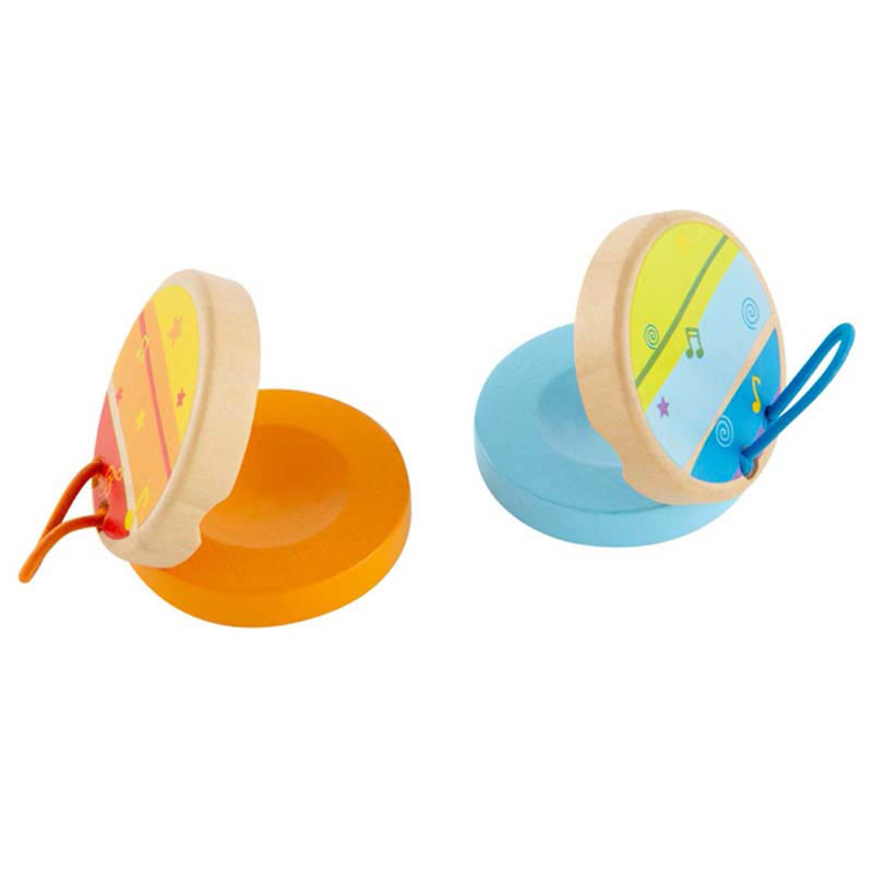 Hape - Wooden Toys -  Clickerty-Clack Clapper