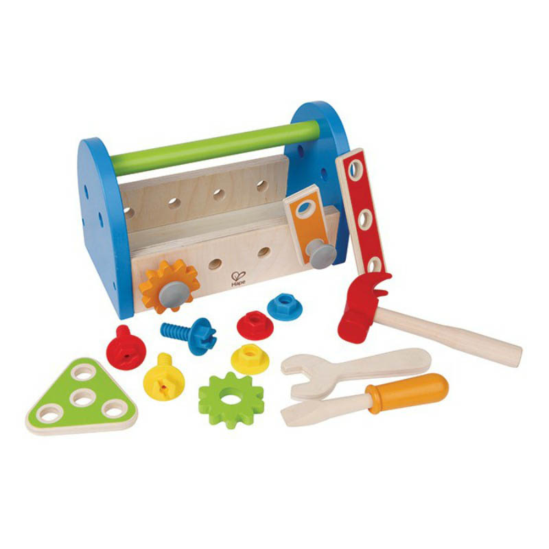 Hape - Wooden Toys - My First Fix-It Tool Box