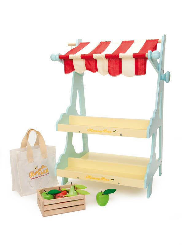 Le Toy Van-Pretend Play-Honeybee Market Stall
