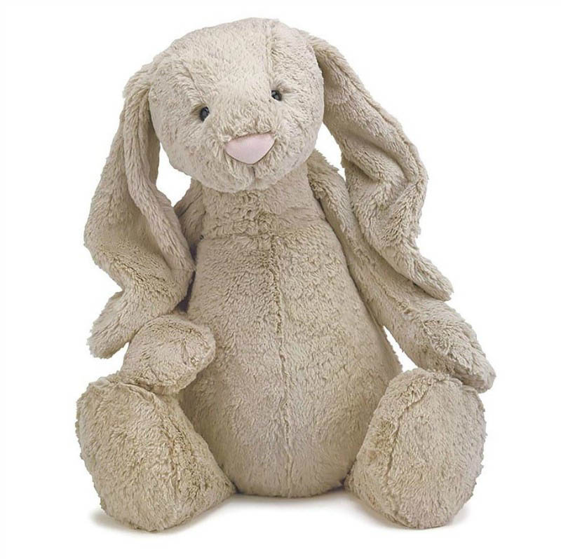 Jellycat Soft Toys - Bashful Beige  Bunny - Huge