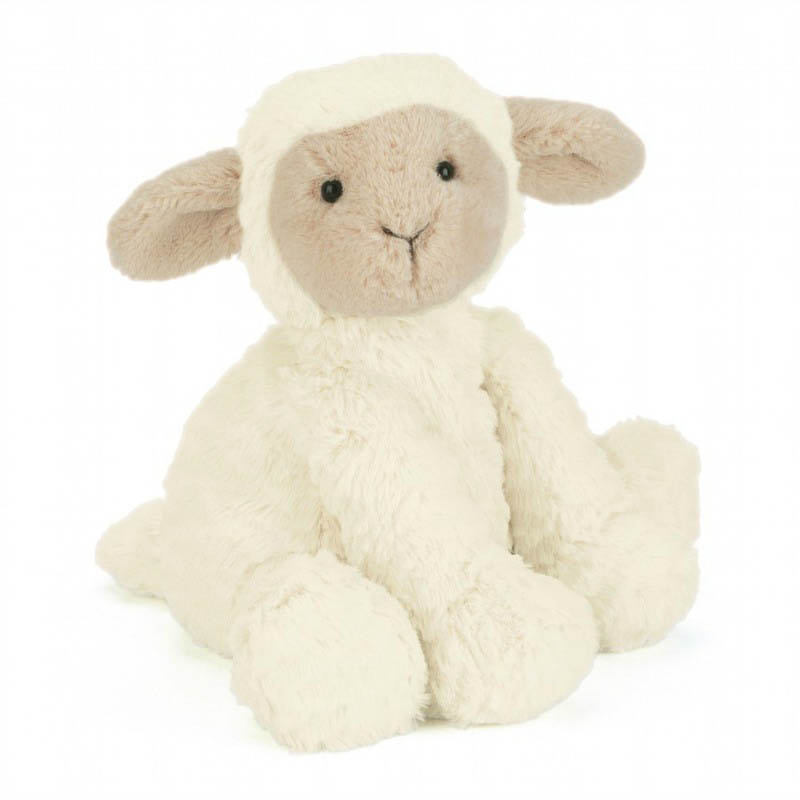 Jellycat Soft Toys-Fuddlewuddle Lamb-Medium