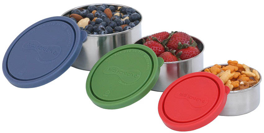 Kids Konserve Nesting Trio Containers~Set of 3~Ocean