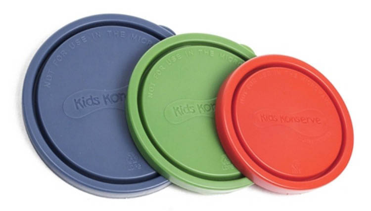 Kids Konserve-Replacement Lids-Nesting Trio {Ocean}