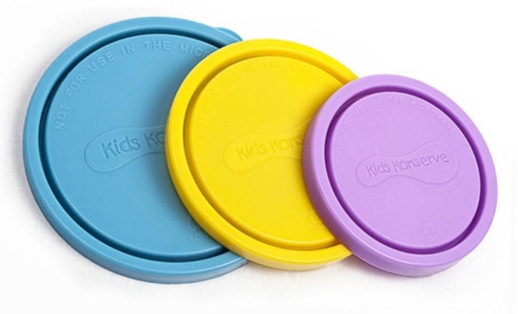 Kids Konserve-Replacement Lids-Nesting Trio {Sky}