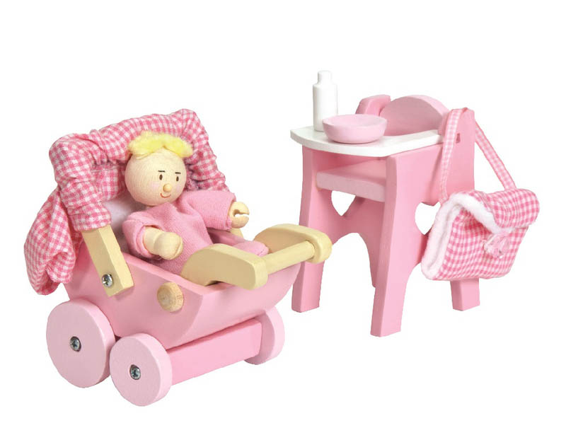 Le Toy Van -Daisylane - Nursery Set and Baby