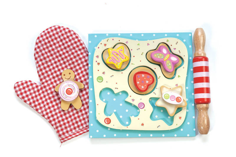 Le Toy Van- Wooden Toys - Honeybake Cookie Set