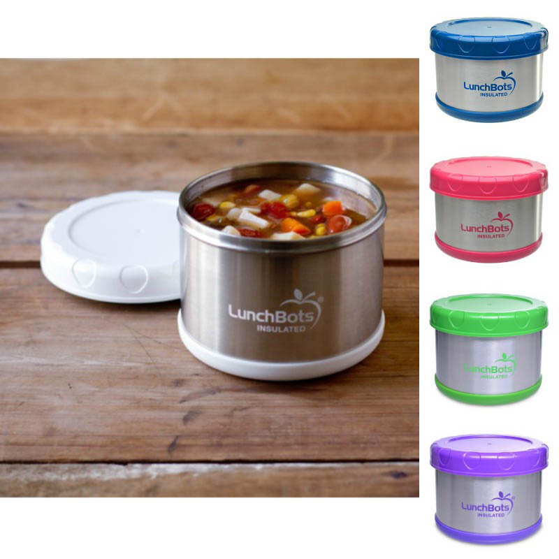 LunchBots Thermal Stainless Steel Insulated Food Jar - 500ml