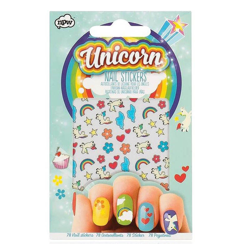 NPW Unicorn Nail Stickers