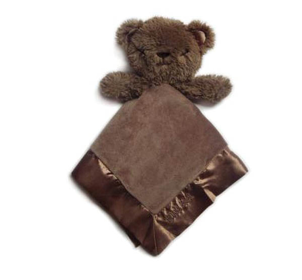 O.B Designs- Baby Soft Toys- Bubba Bear Blankie