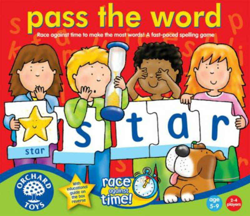 Orchards Toys Pass The Word Game