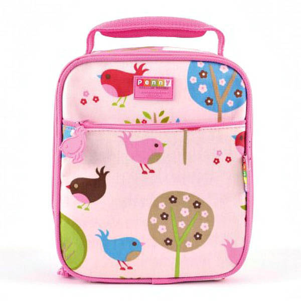 Penny Scallan-Kids Lunchboxes-Chirpy Bird