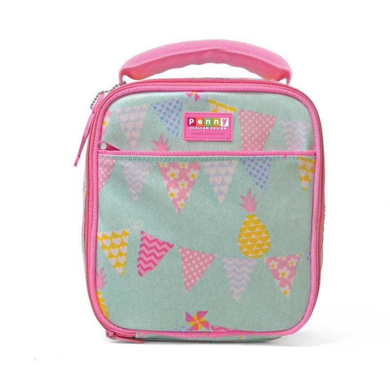 Penny Scallan-Kids Lunchboxes- Pineapple Bunting Lunch Box