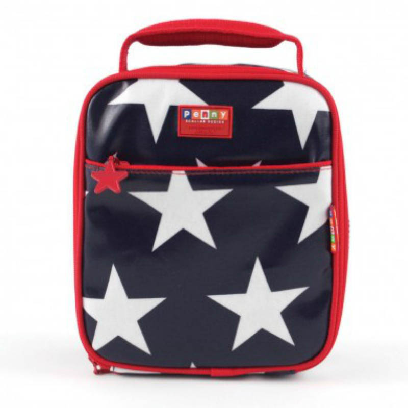Penny Scallen Navy Star Lunch Box