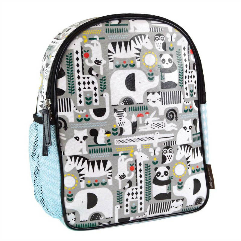 Petit Collage-Eco Friendly-Toddler Backpack (Animals)