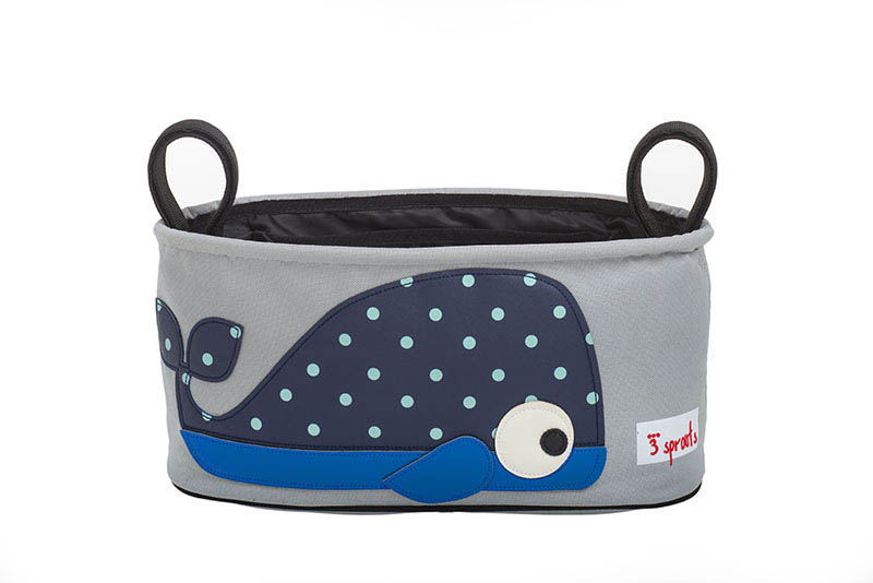 3 Sprouts-Pram Organiser-Whale