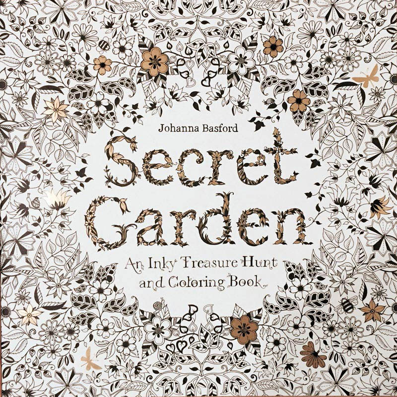 Secret Garden : An Inky Treasury Hunt