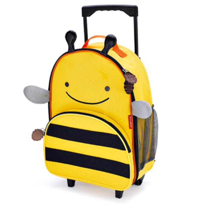 Skip Hop Zoo- Kids Travel-Little Kid Rolling Luggage {Bee}
