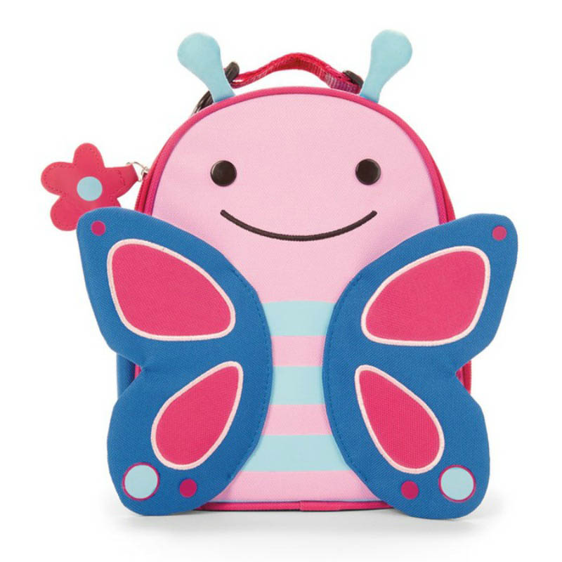 Skip Hop Zoo Lunchies-Kids Lunch Bag-Butterfly