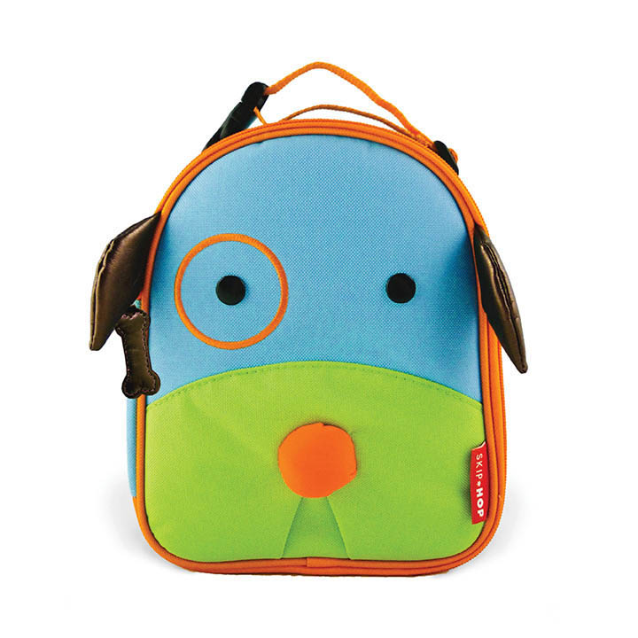 Skip Hop Zoo Lunchies- Kids Lunch Bag- Dog