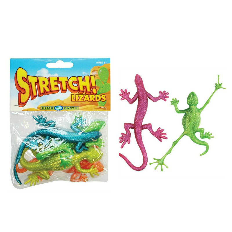 Stretch! Lizards (pack of 4)