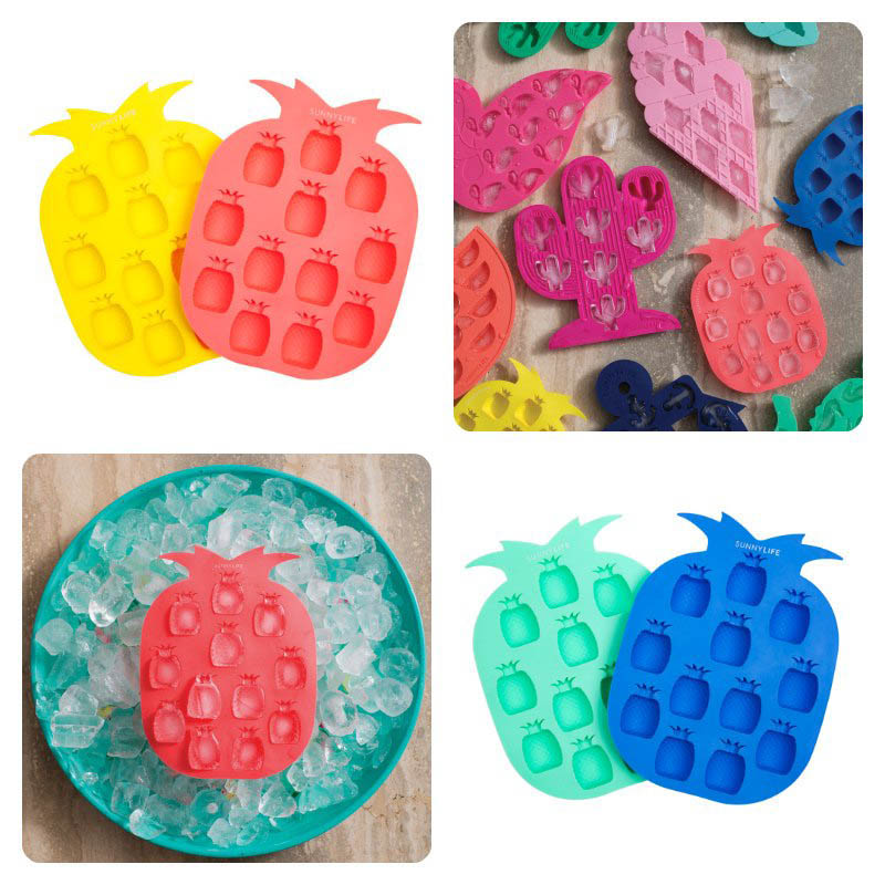 Sunny LIfe Pineapple Ice Trays - Sets  of 2