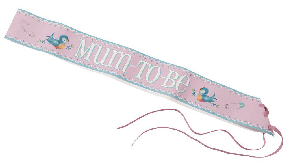 Talking Tables-Baby Shower Essentials-Mum-to-be Sash and Ribbon