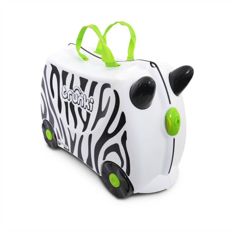 Trunki Kids Suitcase - Zimba Zebra