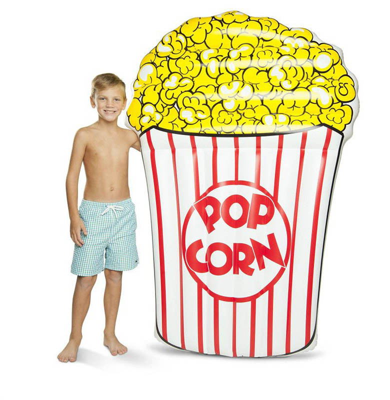 ECD Giant Inflatable Pop Corn Pool Float
