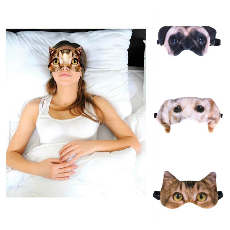 Eye Mask - Cats and Dogs
