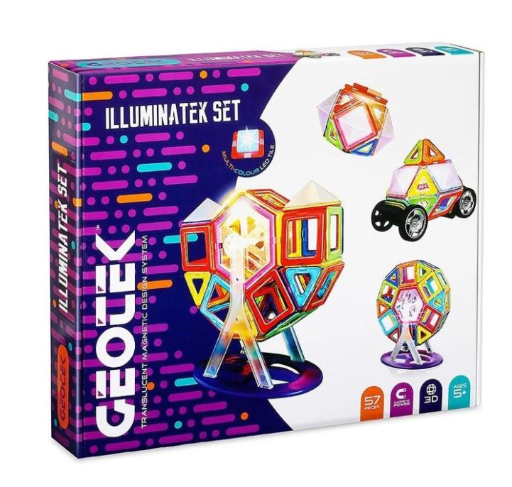 Geotek Illuminatek Set 57 Pieces
