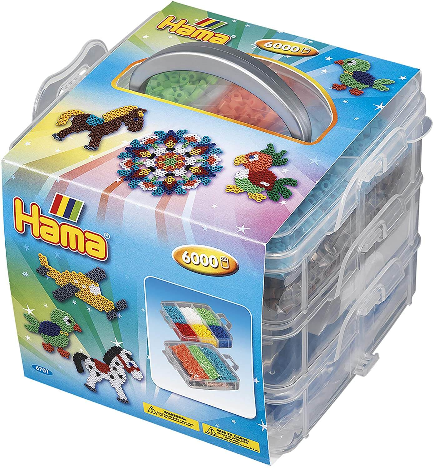 Hama Small Storage Box 6000 Beads