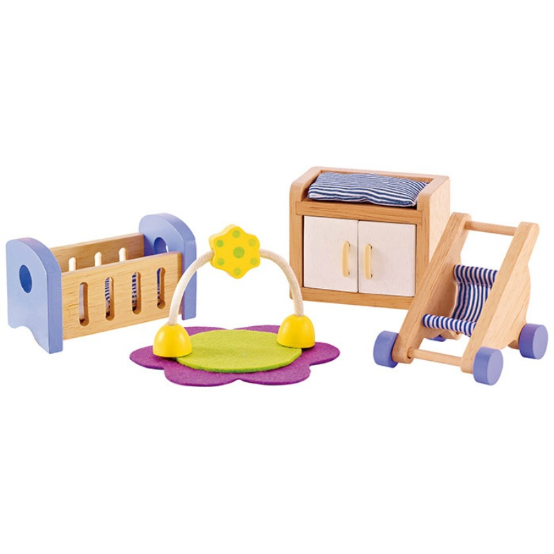 Hape All Seasons Dollhouse Baby