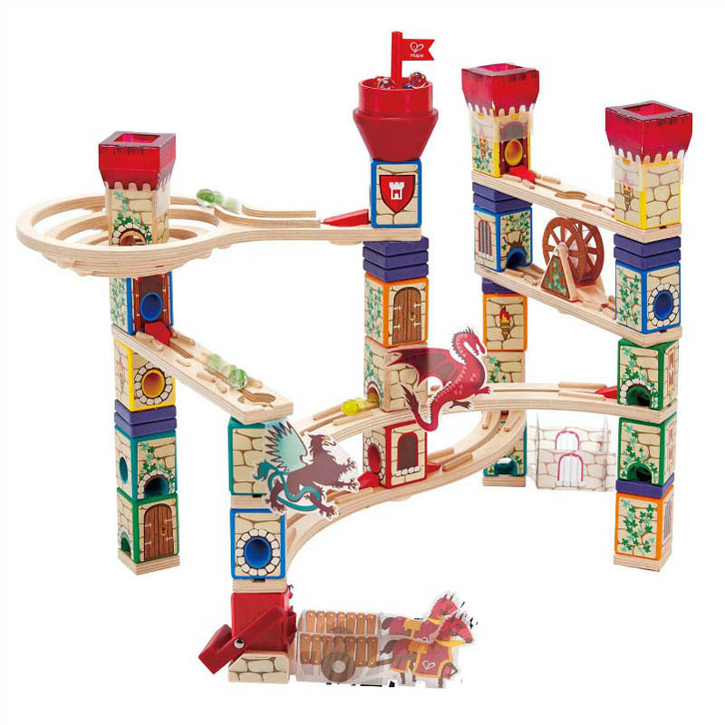 Hape Quadrilla Medieval Quest Marble Run