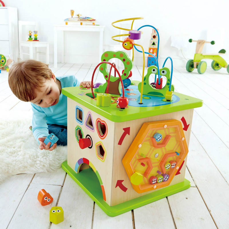 Hape Country Critter Play Cube