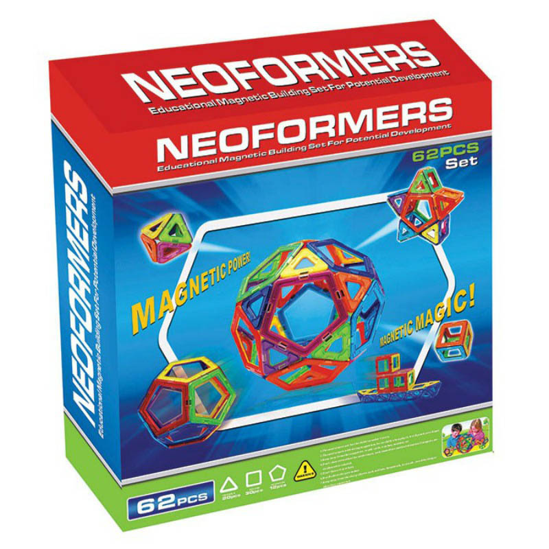 Neoformers Magnetic Building 62pcs Set