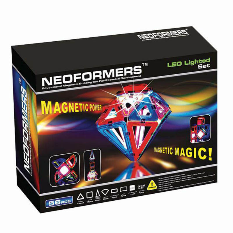 Neoformers Magnetic Building LED Lighted Set