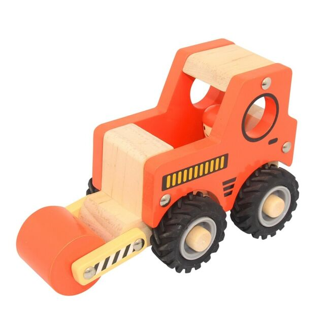 Road Roller Wooden Toy
