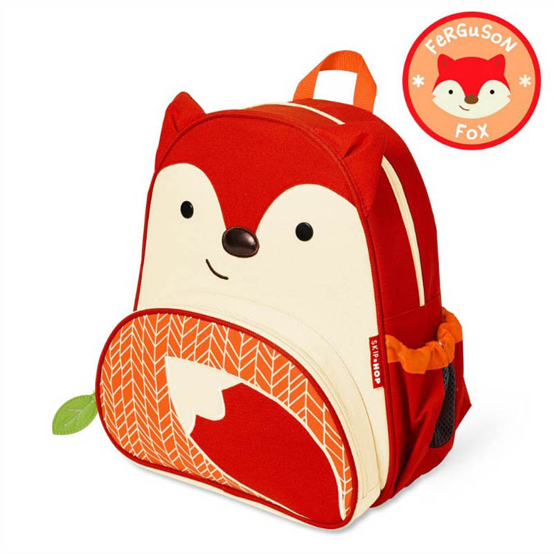 Skip Hop Zoo- Kids Backpacks-Fox Backpack